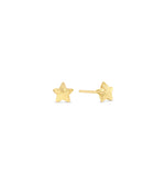 Gold Star Stud Earring - 14K Yellow Gold - Olive & Chain Fine Jewelry