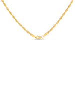 Gold Light Rope Chain - 14K  - Olive & Chain Fine Jewelry