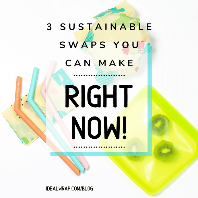 Three Sustainable Swaps You Can Make Right Now