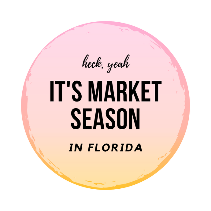 It's Market Season!