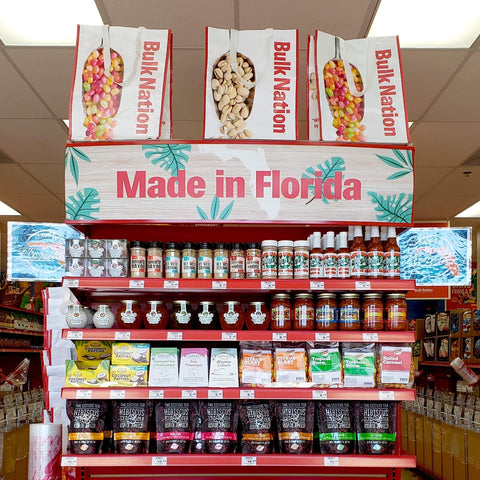 Bulk Nation carries lots of local Florida products