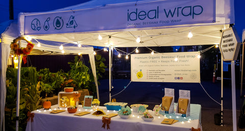 Ideal Wrap at Coppertail Night Market Tampa