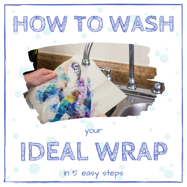 Ideal Wrap - How to was our beeswax food wrap