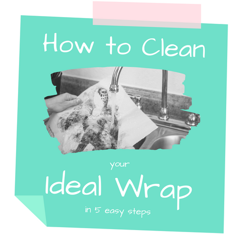 How to Clean Wash a Beeswax Food Wrap | Ideal Wrap | Life Unwrapped the Ideal Wrap Blog