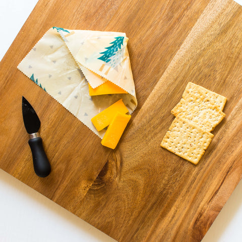 Ideal Wrap Plastic-Free Beeswax Food Wrap is the BEST way to store cheese!