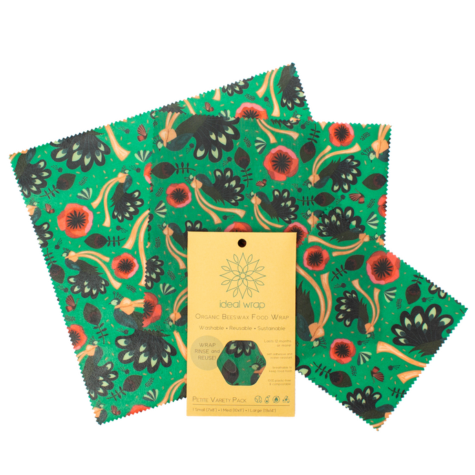Pretty Peacocks Petite Variety Pack - Small, Medium, Large