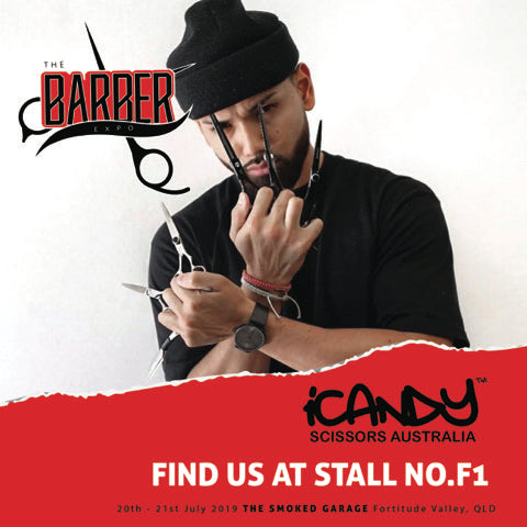 iCandy Scissors Australia - Proudly Supporting The Barber Expo 20th & 21st July 2019 Brisbane, Queensland Australia