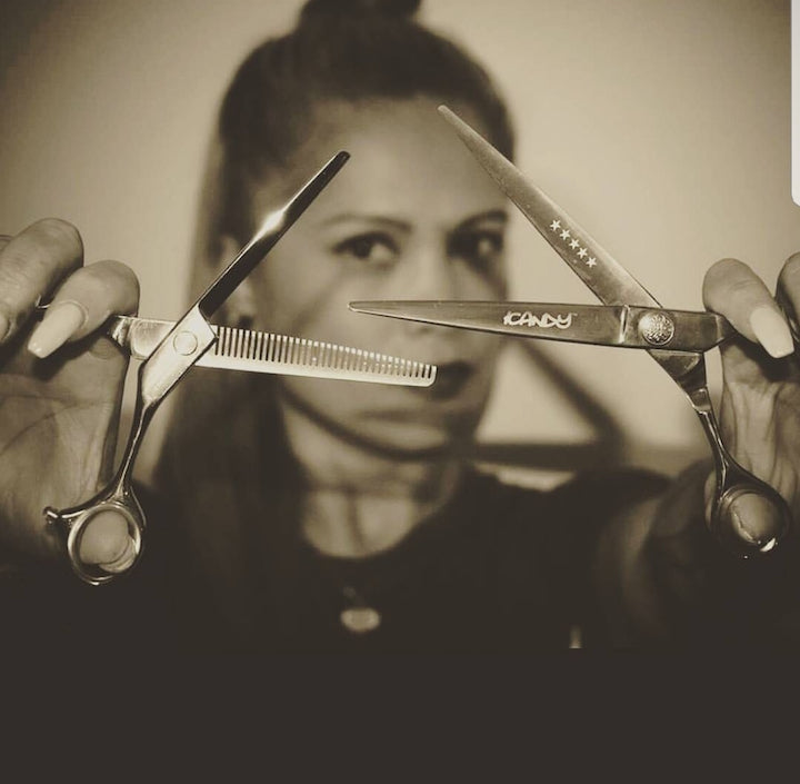 iCandy Scissors Australia appoints Shella Thornton as 1st Female Barbering Ambassador