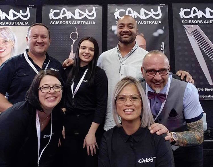 iCandy Scissors Australia - Brisbane Hair & Beauty Expo 2018