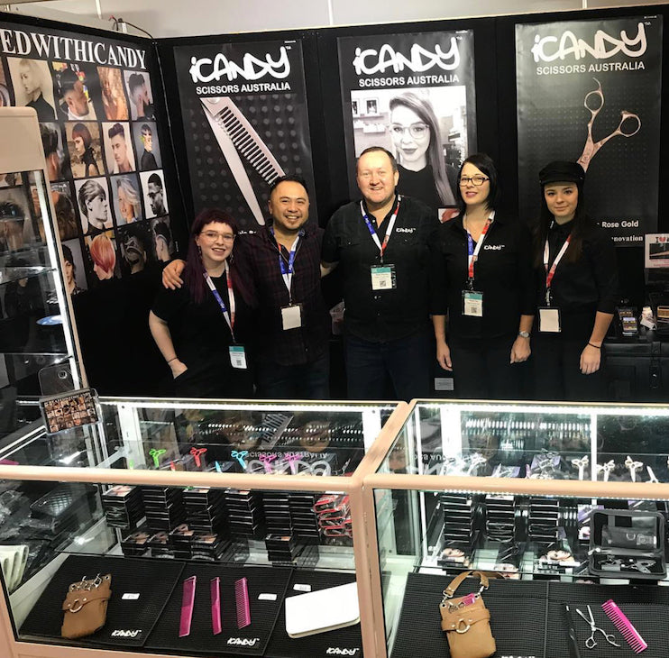 iCandy Scissors Australia Hair Expo 2018