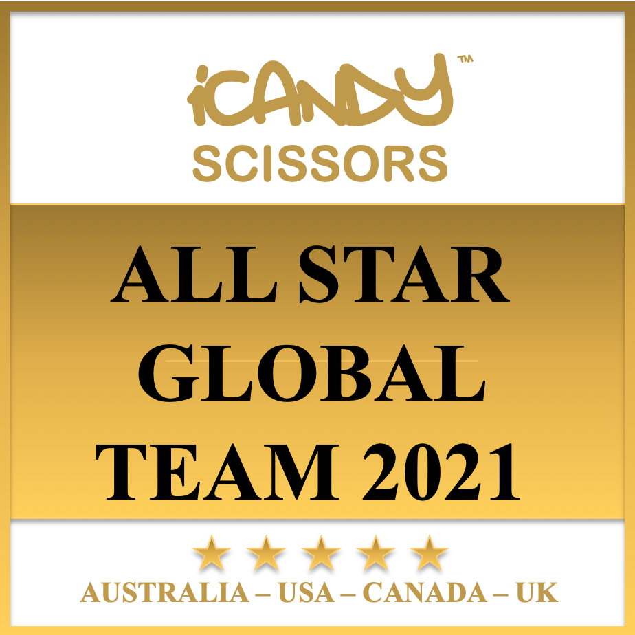 iCandy Scissors ALL STAR Global Team 2021