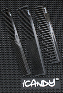 iCandy Creative Series Triple Black Combs Set - iCandy Scissors