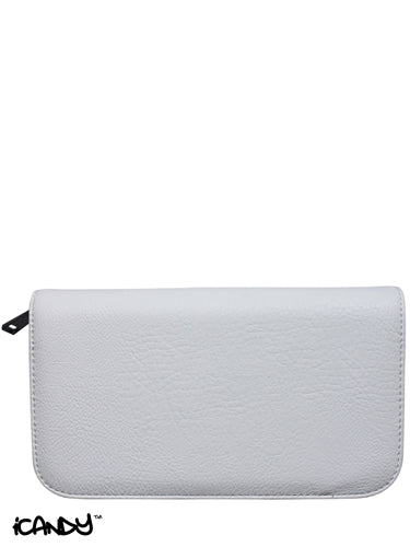 iCandy Luxury White 4pcs Scissor Zip Wallet - iCandy Scissors