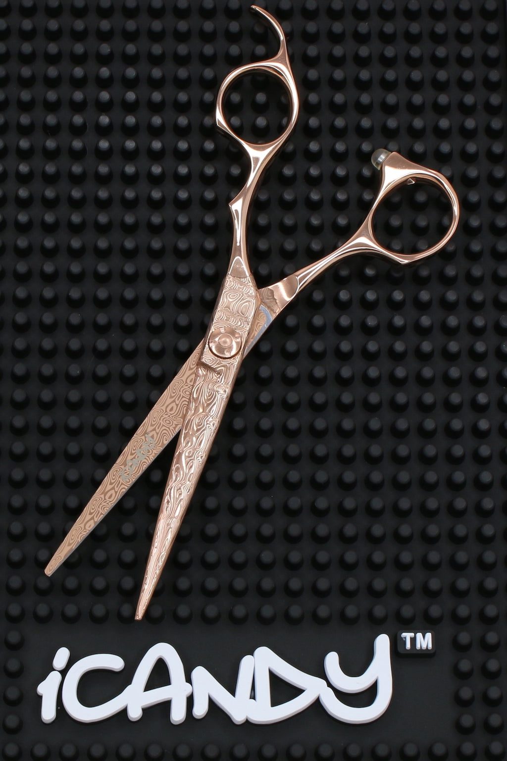 iCandy DAMA1 Damascus Rose Gold Scissors (6.0 inch) Limited Edition - iCandy Scissors