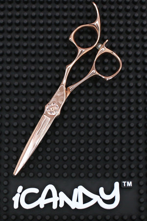 iCandy LUXE DAMA2 Damascus Rose Golden Scissors (5.5 inch) Limited Edition - iCandy Scissors