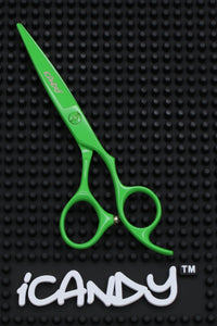 iCandy Creative Series Eco Green Scissors - Limited Edition ! (5.5 inch) - iCandy Scissors