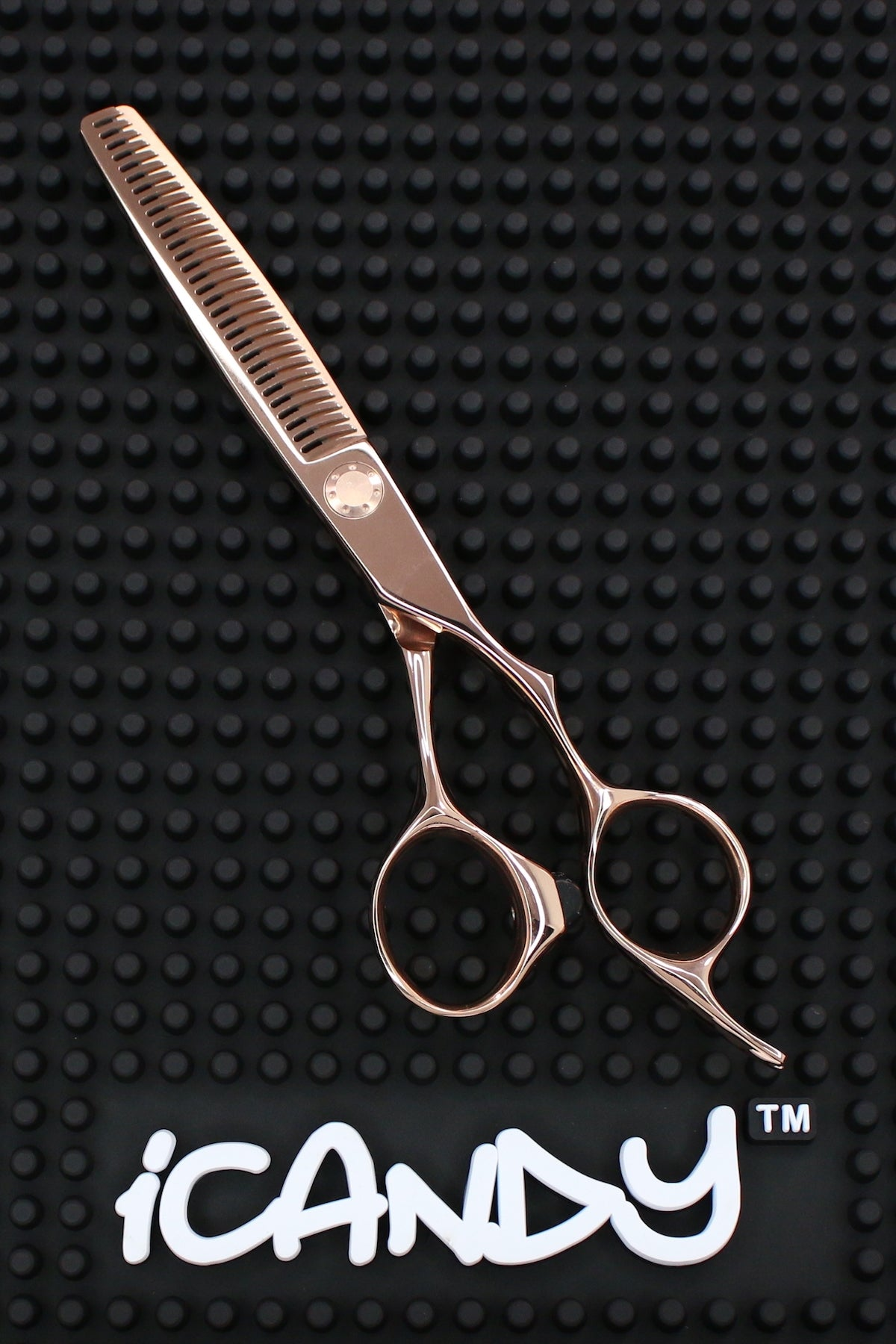 iCandy LUXE Element-T Rose Gold Hairdressing Thinning Scissor  (6.0 inch) Limited Edition! - iCandy Scissors