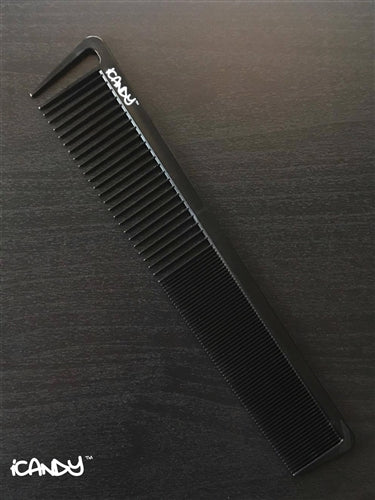 iCandy Creative Series Blending Comb Black 210mm - iCandy Scissors