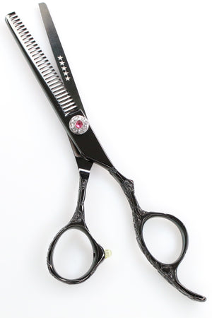 iCandy Dream Midnight-T Black Thinning Scissors - Limited Edition ! (5.5 inch) - iCandy Scissors