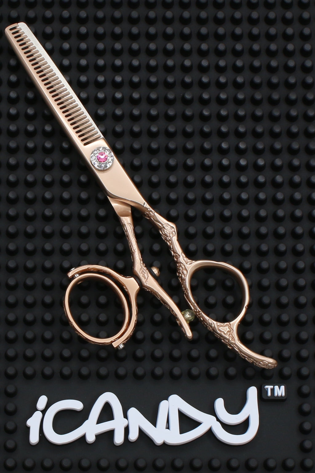 iCandy Dream Rose Gold Swivel-T Thinning Scissors - Limited Edition ! (5.5 inch) - iCandy Scissors