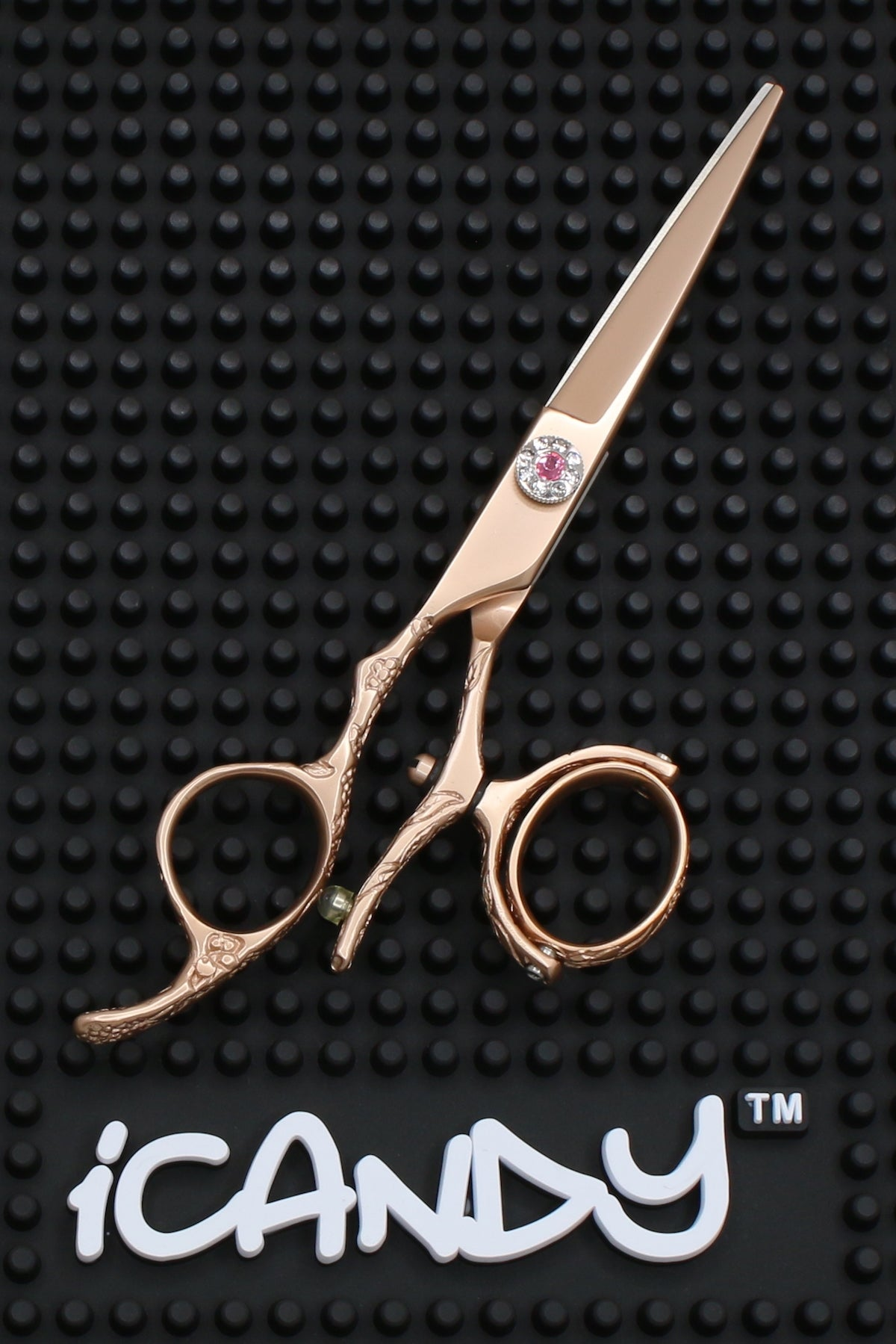 iCandy Dream Rose Gold Lefty Swivel Scissors - Limited Edition ! Scissors (5.5 inch) - iCandy Scissors