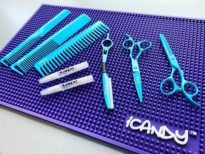 iCandy Ultra Violet Workstation Counter Top Mat Lifestyle