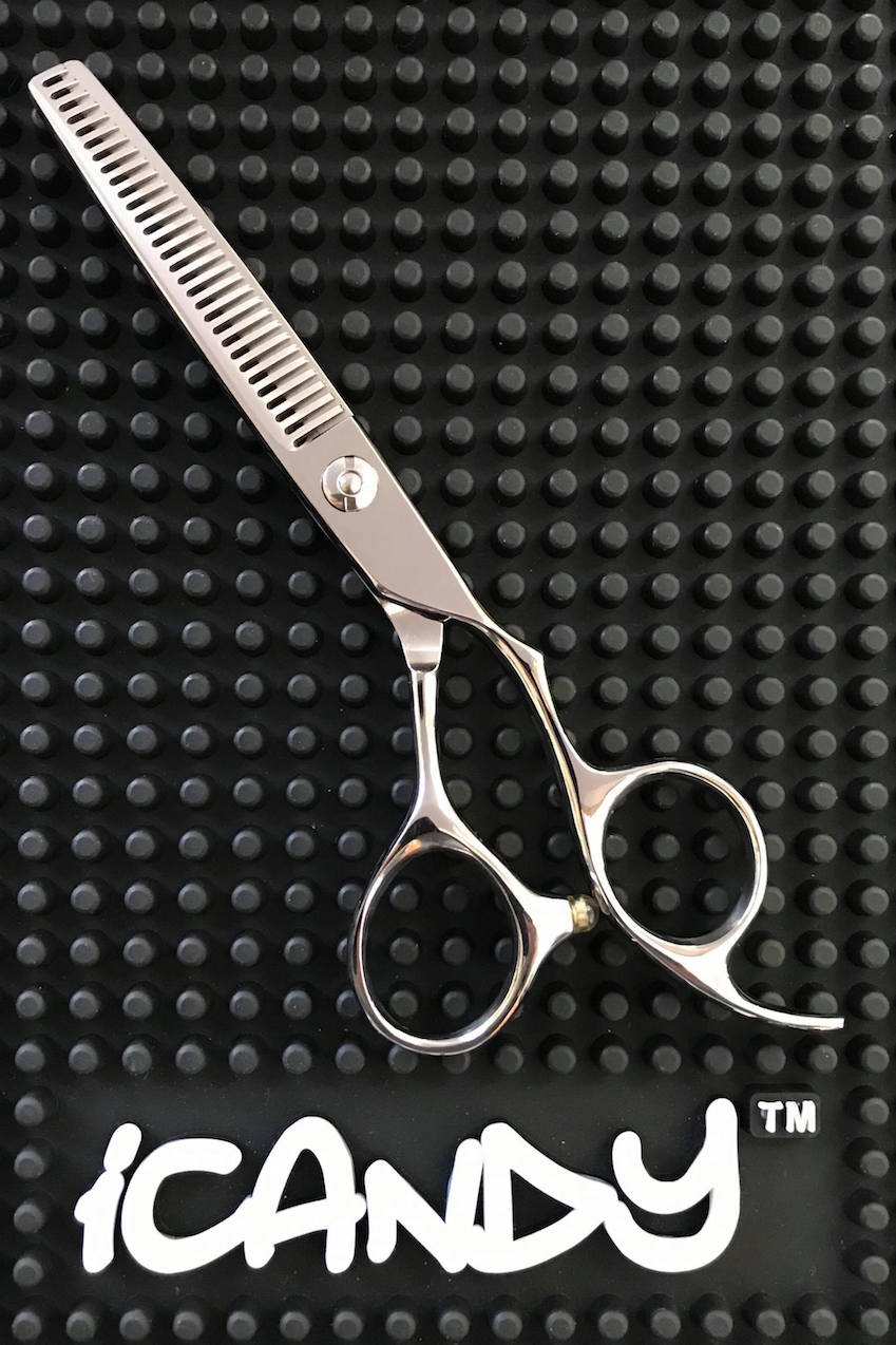iCandy-Creative-Series-Silver-Hairdressing-Thinning-Scissor