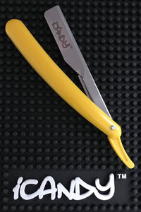 iCandy Barber Razor Yellow & Chrome