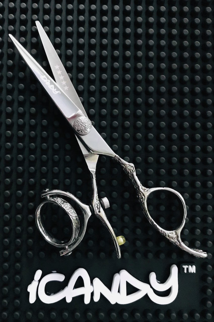 iCandy Dream Mirror Swivel Scissor - G Screw Limited Edition !  (5.5 inch)