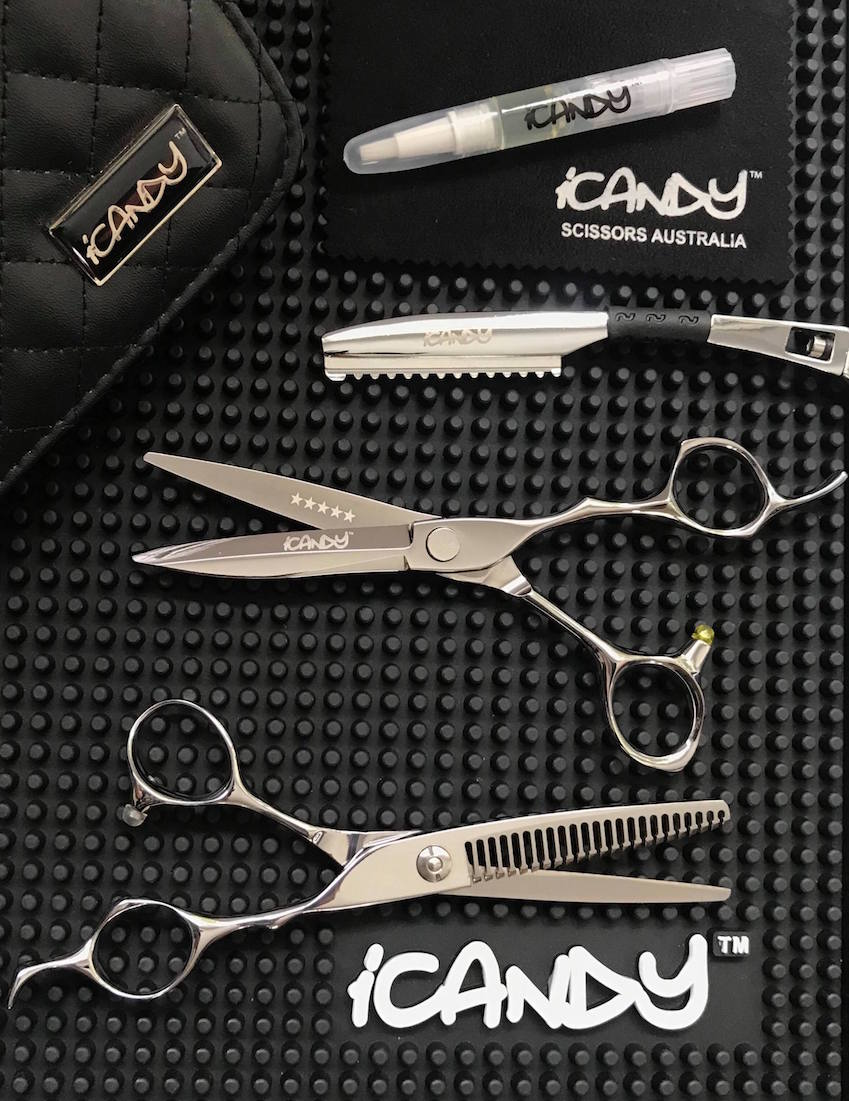 iCandy Kodachi Scissor - Bevel23T Thinning Scissor Bundle Pic1