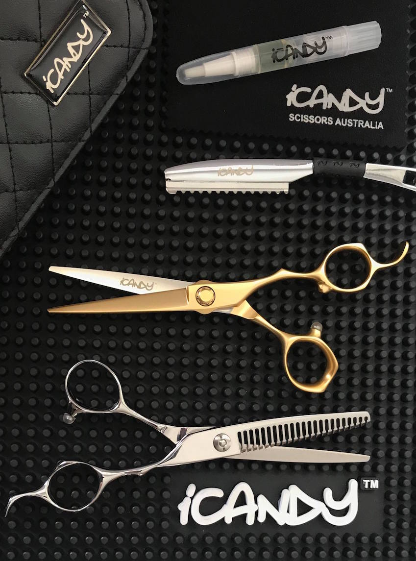 iCandy MASTER VG10 Scissors - Bevel 23T Thinner Bundle (6.0 inch) Limited Edition!
