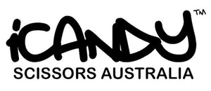 iCandy Scissors Australia Logo Black On White