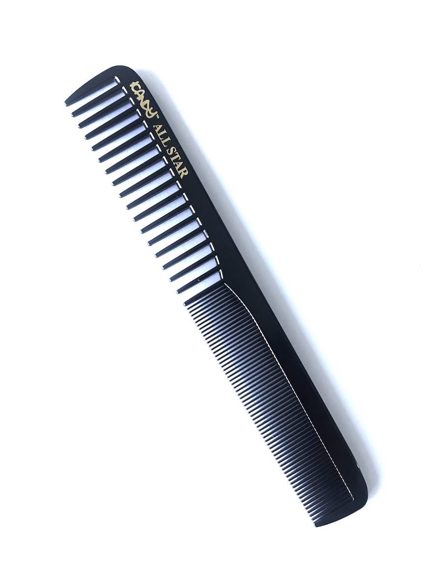 iCandy ALL STAR Fine Comb Black 179mm pic1