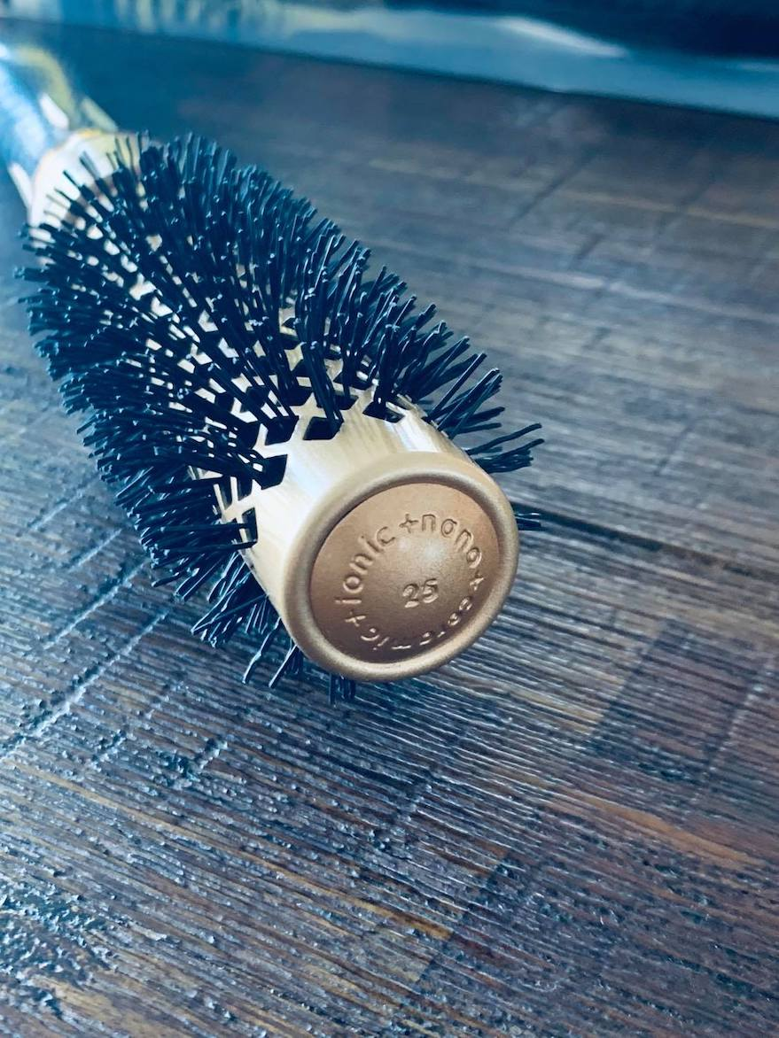 iCandy ALL STAR Thermal Ionic Barrel Hair Brush 25mm-pic3