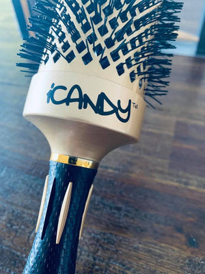 iCandy ALL STAR Thermal Ionic Barrel Hair Brush 53mm pic2