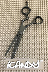 iCandy Athena-CT Midnight Black Thinning Scissors (6 inch) pic3