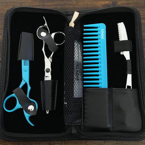 iCandy Element Scissor - Creative Reef Blue Thinner Bundle Inside