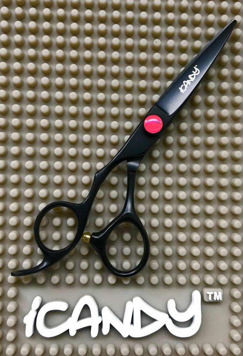 iCandy Creative Black-P Lefty Hairdressing Scissors 2020
