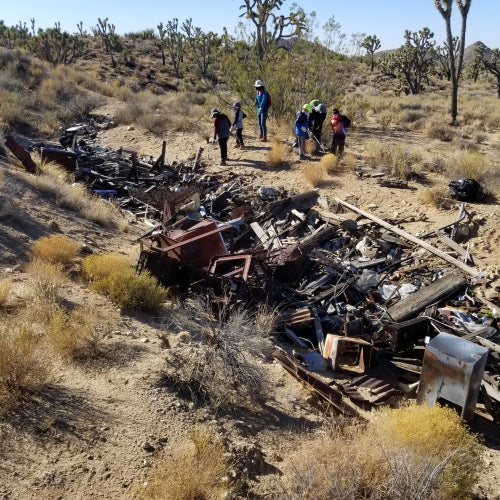 Wagan Tech joins Overland Bound Mojave Cleanup event