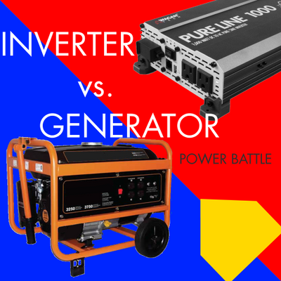 Generator Vs. Power Inverter