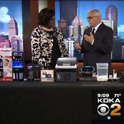 Wagan Tech's 14 Liter Cooler-Warmer featured on CBS - (Video)