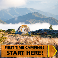 First Time Camping? Start Here!