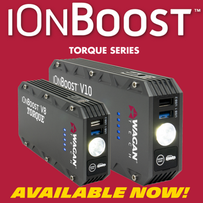 The iOnBoost TORQUE Jump Starter Series is here!