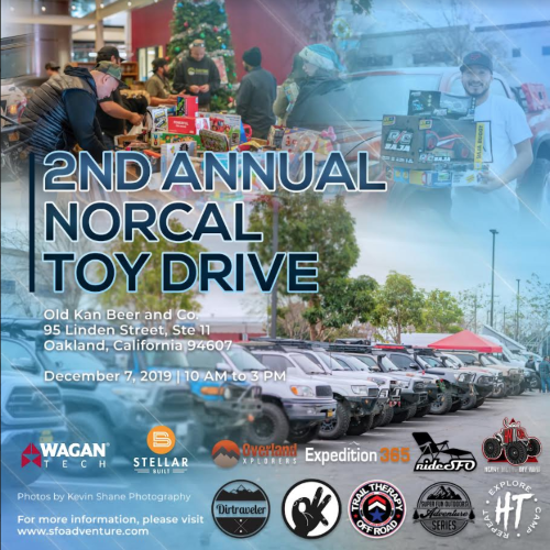 2nd Annual NorCal Toy Drive