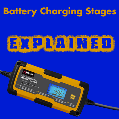 The Battery Charging Stages - Defined. What are 3-stage, 6-stage, & 9-stage battery chargers? Let's find out!