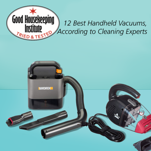 """12 Best Handheld Vacuums, According to Cleaning Experts"" by, Good Housekeeping"
