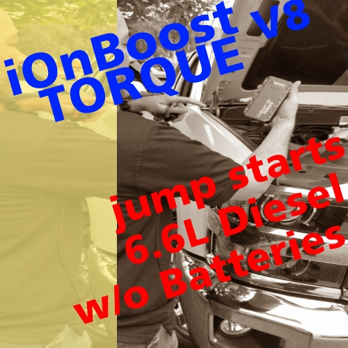 VIDEO: We disconnect both batteries, then start this Duramax Diesel with only the iOnBoost TORQUE V8 - TRUTH!