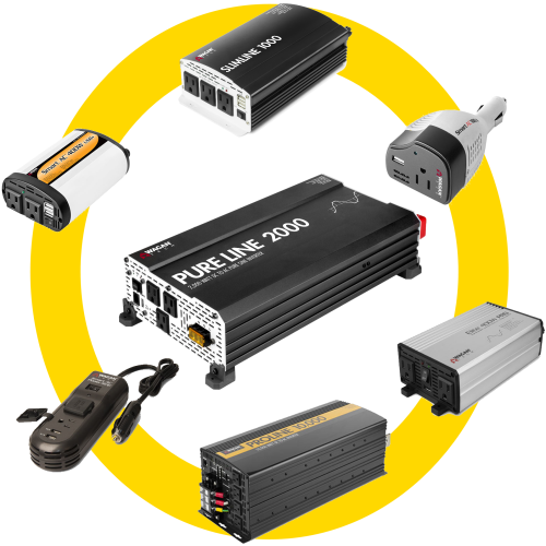 What is the difference between Power Inverter models?
