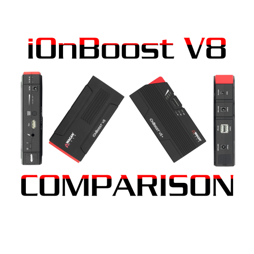 Comparing - iOnBoost V8 vs. iOnBoost V8+