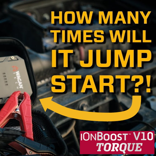 Overland Bound: iOnBoost V10 TORQUE Jump Starter - How Many Times Will it Start My Rig? (VIDEO)